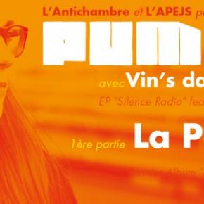 Concert Pumpkin + La Parenthèse @ La Soute