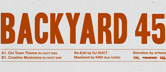 DJ DUCT Backyard 45